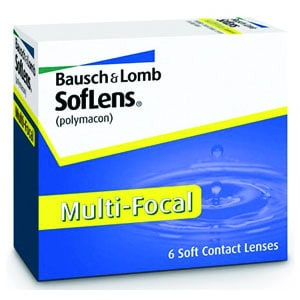 SoftLens Multifocal contact lens