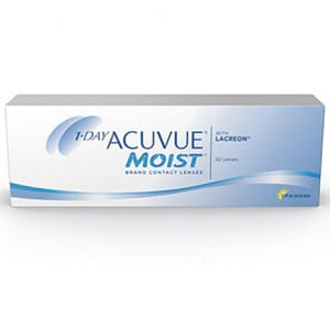 acuvue moist johnson and johnson lens