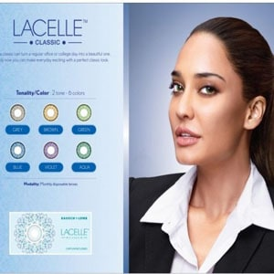 Lacelle bausch and lomb contact lens