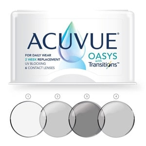 Acuvue Oasys with Transitions contact lens